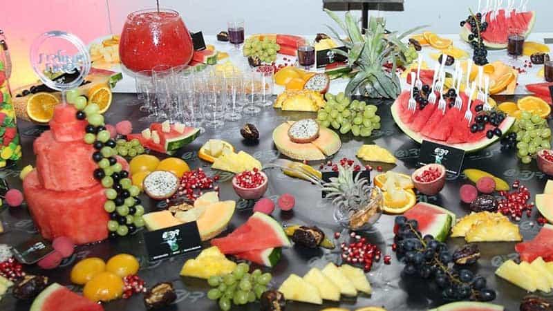 שולחן פירות